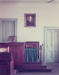 Photographs:Chromogenic, Stephen Shore (American, b. 1947). Green County Courthouse, Greensboro, Georgia, 1976. Color coupler. 15 x 11-7/8 inches...