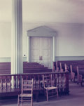 Photographs:Chromogenic, Stephen Shore (American, b. 1947). Greene County Court House,Greensboro, Georgia, 1976. Color coupler. 15 x 11-7/8 inch...