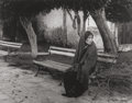 Photographs, Manuel Carrillo (Mexican, 1906-1989). Woman on a Bench, 1960. Gelatin silver. 9-1/4 x 12 inches (23.5 x 30.5 cm). Signed...