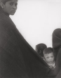 Manuel Carrillo (Mexican, 1906-1989) Mother with Baby, circa 1960 Gelatin silver 12-1/4 x 9-1/2 i