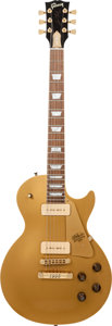Musical Instruments:Electric Guitars, 1994 Gibson Les Paul Centennial Goldtop Solid Body Electric Guitar,Serial # 1935 4....