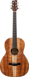Musical Instruments:Acoustic Guitars, 2000's Omega by Kevin Gallagher P-02 Natural Acoustic Guitar,Serial # 00435....