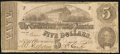 Confederate Notes:1862 Issues, T53 $5 1862 PF-13 Cr. 388.. ...