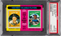 Baseball Cards:Singles (1970-Now), 1975 Topps Mini 1959 MVP's Fox/Banks #197 PSA Gem Mint 10 - PopFive! ...