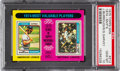 Baseball Cards:Singles (1970-Now), 1975 Topps Mini 1974 MVP's Burroughs/Garvey #212 PSA Gem Mint 10 - Pop Five! ...