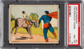 "Non-Sport Cards:General, 1940 Superman ""The Runaway Horse"" #21 PSA NM-MT 8 - Only OneHigher...."