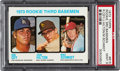 Baseball Cards:Singles (1970-Now), 1973 Topps Mike Schmidt - Rookie 3rd Basemen #615 PSA Mint 9....
