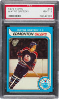 Hockey Cards:Singles (1970-Now), 1979 Topps Wayne Gretzky #18 PSA Mint 9 - Only One Higher....