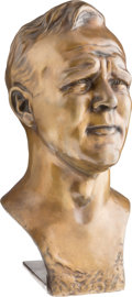 Miscellaneous Collectibles:General, Arnold Palmer Bronze Bust Made from Augusta National Mold....