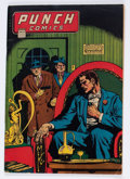 Golden Age (1938-1955):Crime, Punch Comics #14 (Chesler, 1945) Condition: VG+....