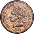 Proof Indian Cents, 1877 1C PR64 Red and Brown NGC....