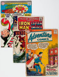 Silver Age (1956-1969):Miscellaneous, Comic Books - Assorted Silver and Bronze Age Comics Group of 34(Various Publishers, 1960s-70s) Condition: Average GD.... (Total:34 Comic Books)