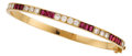 Estate Jewelry:Bracelets, Diamond, Ruby, Gold Bracelet, Van Cleef & Arpels. ...