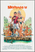 """Movie Posters:Comedy, Meatballs III: The Summer Job & Other Lot (Moviestore Entertainment, 1986). One Sheets (2) (27"""" X 41""""). Comedy.. ... (Total: 2 Items)"""