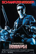 "Movie Posters:Science Fiction, Terminator 2: Judgment Day (Tri-Star, 1991). One Sheet (27"" X39.75"") DS. Science Fiction.. ..."
