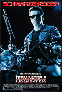 """Terminator 2: Judgment Day (Tri-Star, 1991). One Sheet (27"""" X 39.75"""") DS. Science Fiction"""