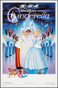 "Movie Posters:Animation, Cinderella & Others Lot (Buena Vista, R-1987). One Sheet (27"" X40"" & 27"" X 41"") SS Regular & DS Advance. Animation.. ...(Total: 3 Items)"