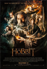 """The Hobbit: The Desolation of Smaug (Warner Brothers, 2013). One Sheets (2) (27"""" X 40"""") DS Advance Bilbo &..."""