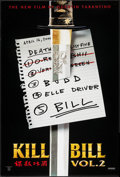 "Movie Posters:Action, Kill Bill: Vol. 2 (Miramax, 2004). One Sheet (27"" X 40"") DS Advance List Style. Action.. ..."