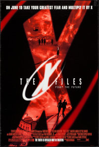 """The X Files & Other Lot (20th Century Fox, 1998). One Sheets (2) (26.75"""" X 39.75"""" & 27"""" X 40""""..."""