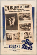 "Movie Posters:Crime, The Big Shot (Warner Brothers, 1942). One Sheet (27.25"" X 41"").Crime.. ..."