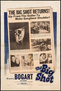 "The Big Shot (Warner Brothers, 1942). One Sheet (27.25"" X 41""). Crime"