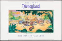 "Mickey's Toontown at Disneyland & Other Lot (The Walt Disney Company, 1991). Poster (26"" X 39.25"") and..."