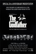 "Movie Posters:Crime, The Godfather (Paramount, R-1997). 25th Anniversary Mylar One Sheet (26.75"" X 39.75""). Crime.. ..."
