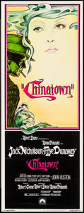 """Movie Posters:Mystery, Chinatown (Paramount, 1974). Insert (14"""" X 36""""). Mystery.. ..."""
