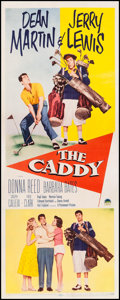 "Movie Posters:Sports, The Caddy (Paramount, 1953). Insert (14"" X 35.75""). Sports.. ..."