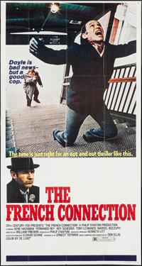 """The French Connection (20th Century Fox, 1971). Three Sheet (41"""" X 77""""). Action"""