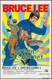 """The Green Hornet (20th Century Fox, 1974). One Sheet (27"""" X 41""""). Action"""
