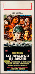 "Movie Posters:War, Anzio (Columbia, 1968). Italian Locandina (13"" X 27.5""). War.. ..."