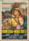 "Movie Posters:Adventure, Flame Over India (Rank, 1960). Italian 2 - Foglio (39.25"" X 55"").Adventure.. ..."
