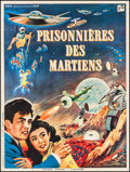"Movie Posters:Science Fiction, The Mysterians (RKO, 1959). French Grande (47.5"" X 63""). Science Fiction.. ..."