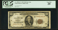 Fr. 1890-E* $100 1929 Federal Reserve Bank Note. PCGS Very Fine 20