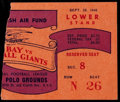 Football Collectibles:Tickets, 1946 Green Bay Packers Vs. New York Giants Ticket Stub....