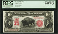 Large Size:Legal Tender Notes, Fr. 121 $10 1901 Legal Tender PCGS Very Choice New 64PPQ.. ...