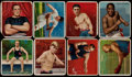"Boxing Cards:General, 1910-12 T218 Hassan/Mecca ""Champion Athlete and Prize FighterSeries"" Collection (104) With Both Johnson & Jeffries Cards and..."