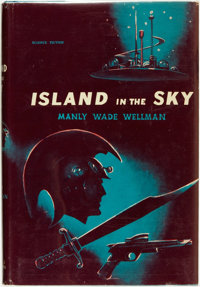 Manly Wade Wellman. Island in the Sky. New York: Avalon Books, [1961]