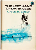 Books:Science Fiction & Fantasy, Ursula K. Le Guin. The Left Hand of Darkness. New York:Walker and Company, [1969]. ...