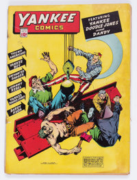 Yankee Comics #3 (Chesler, 1942) Condition: Qualified GD