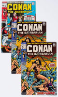 Bronze Age (1970-1979):Adventure, Conan the Barbarian #1 and 2 Group (Marvel, 1970) Condition: Average VF/NM.... (Total: 4 Comic Books)