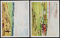 Golf Cards:General, 1924 W.D. & H.O. Wills Golfing Complete Set (25). ...