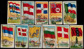"Non-Sport Cards:Lots, 1909-11 T59 ""Flags of All Nations"" Collection (98). ..."