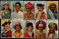 """Non-Sport Cards:Sets, 1910-11 T113 """"Types Of Nations"""" Complete Set (50). ..."""