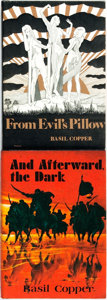 Books:Horror & Supernatural, Basil Copper. Pair of LIMITED Horror Titles. [Sauk City]: Arkham House. Includes: From Evil's Pillow, 1973. 3468 cop... (Total: 2 Items)