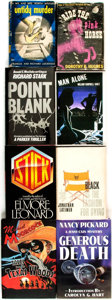 Books:Mystery & Detective Fiction, [Mystery & Thriller]. Group of Eight Titles, Two of Which areSIGNED/LIMITED. Various publishers and dates.... (Total: 8 Items)