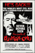 """Movie Posters:Horror, The Castle of Fu Manchu & Other Lot (International CinemaCorp., 1970). One Sheets (2) (27"""" X 41""""). Horror.. ... (Total: 2Items)"""