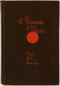 Books:Science Fiction & Fantasy, Edgar Rice Burroughs. A Princess of Mars. Chicago: A. C.McClurg & Co., 1917. ...
